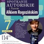 Spotkanie autorskie- Alek Rogoziński